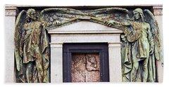 18/09/13 Glasgow. The Necropolis, Double Angels. Bath Towel