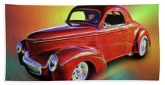 1941 Willis Coupe Bath Towel