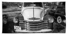 1949 Chevrolet 3100 Series Panel Truck 300 Bath Towel