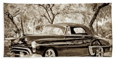 1950 Oldsmobile 88 -004bwcl Bath Towel