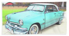 1951 Ford Bath Towel