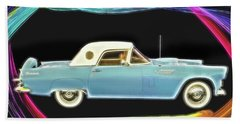 1956 Thunderbird Bath Towel