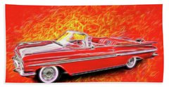 1959 Chevy Convertable Hand Towel