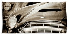 1965 Aston Martin Db6 Short Chassis Volante Grille-0970s2 Bath Towel