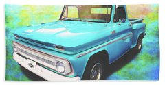 1965 Chevy Truck Bath Towel