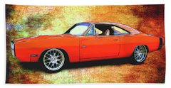 1970 Dodge Charger Bath Towel