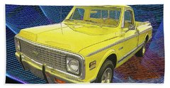 1972 Chevy Pickup Truck Bath Towel