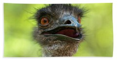 Australian Emu Outdoors Bath Towel