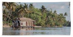 Backwaters Of Kerala Bath Towel