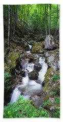 Bela River, Balkan Mountain Hand Towel