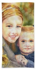 Belle And Maddie Hand Towel