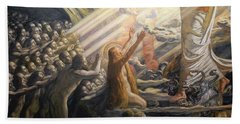 Christ In The Realm Of The Dead Bath Towel
