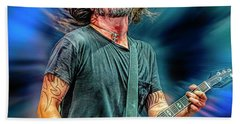 Dave Grohl Musician Hand Towel