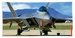 F22 Rapter Hand Towel