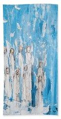 Heavenly Host Of Angels  Hand Towel