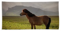 Icelandic Horse Bath Towel