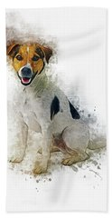 Jack Russell Hand Towel