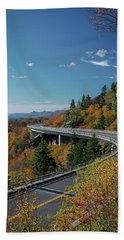 Linn Cove Viaduct - Blue Ridge Parkway Hand Towel