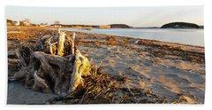 Popham Beach State Park - Phippsburg Maine Usa Hand Towel