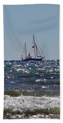 Sailboat  Bath Towel