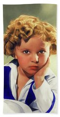 Shirley Temple, Vintage Actress Hand Towel