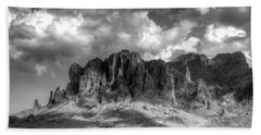 The Superstition Mountains  Bath Towel