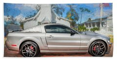 2009 Ford Shelby Mustang Gt Cs California Special 107     Bath Towel