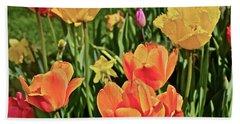 2019 Acewood Tulips And Daffodils 1 Bath Towel