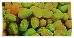 2019 Farmers' Market Plum Tomatoes Bath Towel