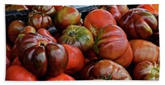 2019 Farmers' Market Spring Green Heirloom Tomatoes 1 Bath Towel