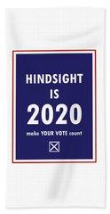 2020 Hindsight Bath Towel