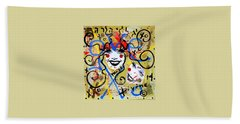 Can You Guess Who Parody Portraits New Art Style Famous Stars Hommage Experience Prayers Gracedivine Hand Towel