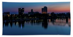 Augusta Ga - Savannah River Bath Towel