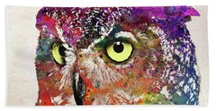 Owl Head Bath Towel