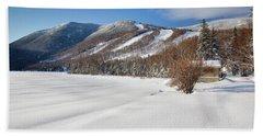 Cannon Mountain - White Mountains New Hampshire  Bath Towel