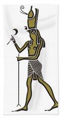 Horus - God Of Ancient Egypt Bath Towel