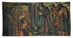 The Star Of Bethlehem Hand Towel