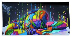 Urban Street Art - Wynwood Walls - Miami Hand Towel