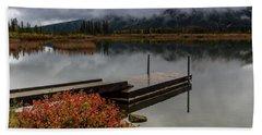 Vermillion Lakes, Banff National Park, Alberta, Canada Hand Towel