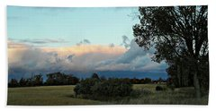 Colossal Country Clouds Hand Towel