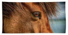 Icelandic Horse Hand Towel