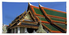 Bangkok, Thailand - Wat Phra Kaew - Temple Of The Emerald Buddha Hand Towel