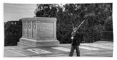 Tomb Of The Unknown Soldier Hand Towel