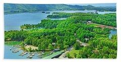 Smith Mountain Lake, Va. Hand Towel