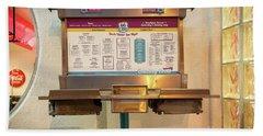66 Diner Menu  Hand Towel