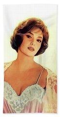 Gina Lollobrigida, Vintage Movie Star Hand Towel