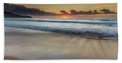 Sunrise Beach Seascape Hand Towel