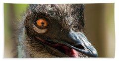 Australian Emu Outdoors Hand Towel