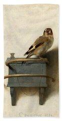 The Goldfinch Bath Towel