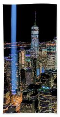 911 Lights Bath Towel